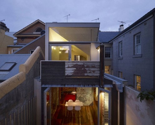 Fitzroy Terrace by Welsh & Major Architects (via Lunchbox Architect)