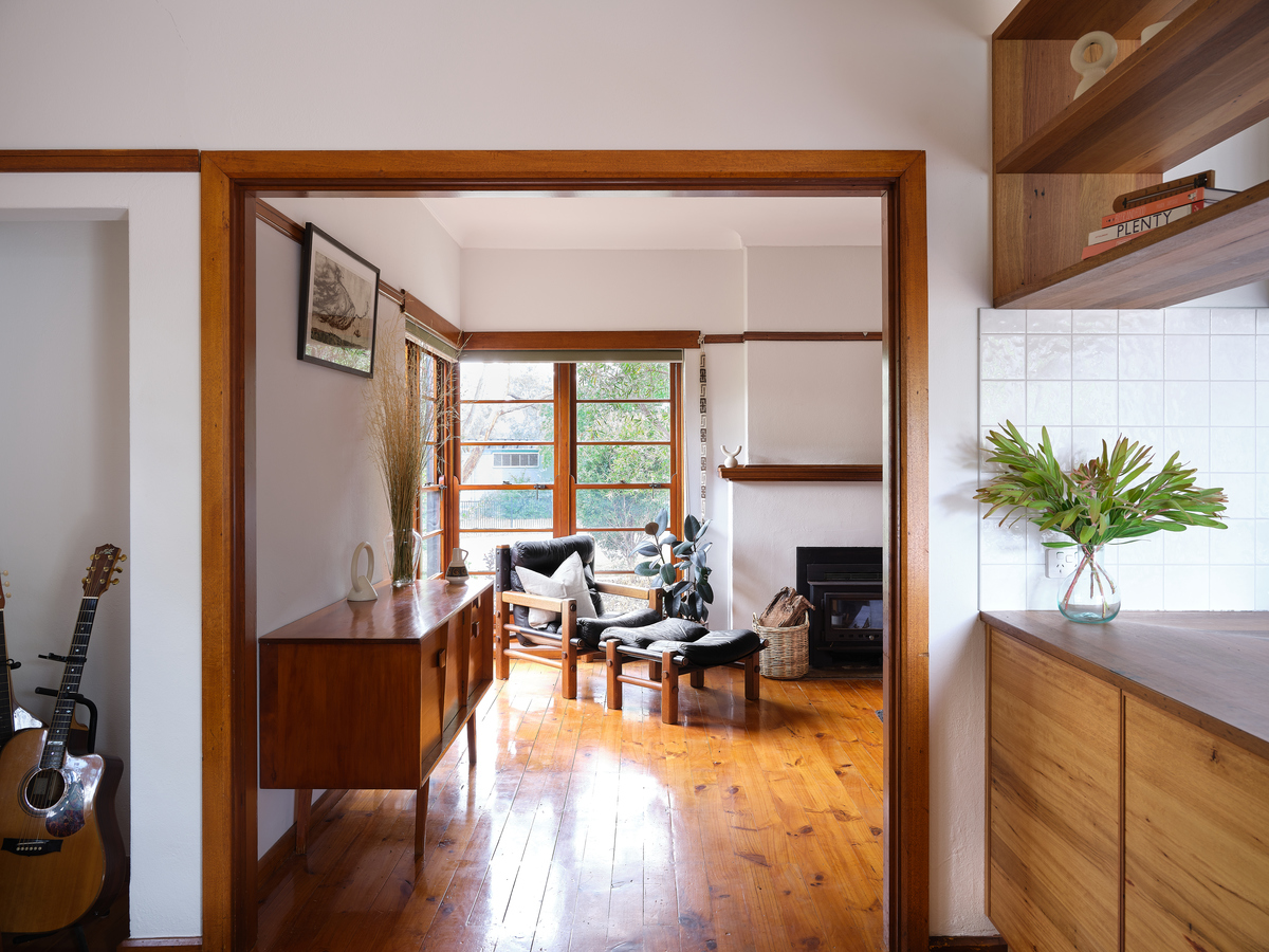 Government-built home lovingly transformed into a Mid-century gem