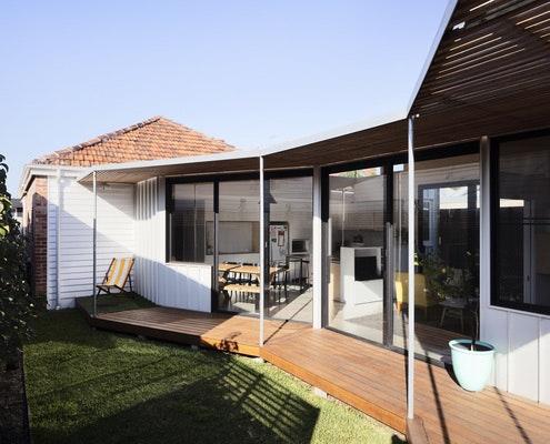 Allan Street House by Gardiner Architects (via Lunchbox Architect)
