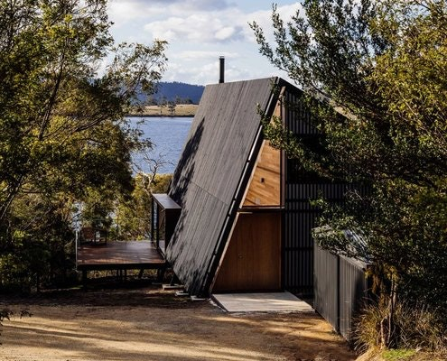 Apollo Bay House by Dock4 Architecture (via Lunchbox Architect)