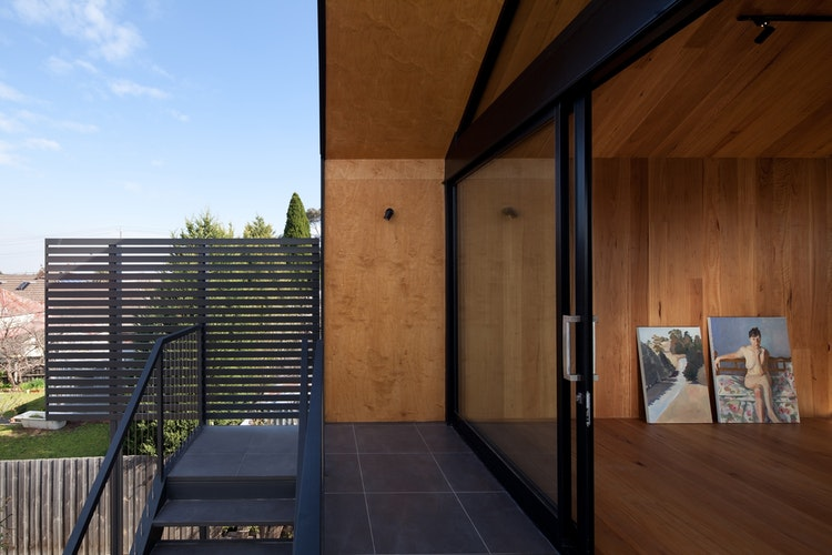 Artist's Studio by Chan Architecture (via Lunchbox Architect) (via Lunchbox Architect)