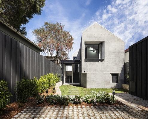 Balmain Rock House by Benn & Penna Architects (via Lunchbox Architect)