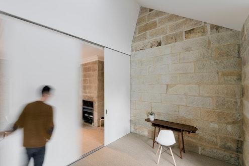 Balmain Sandstone Cottage by Carter Williamson Architects (via Lunchbox Architect)