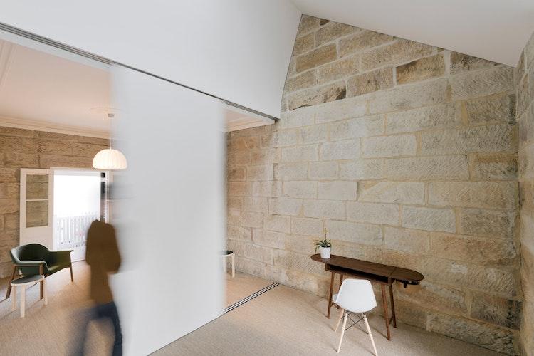 Rejuvenating a Sydney Sandstone While Respecting its Heritage Value (via Lunchbox Architect)