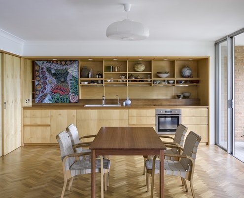 Beaumont Apartment by Anna O'Gorman Architect (via Lunchbox Architect)