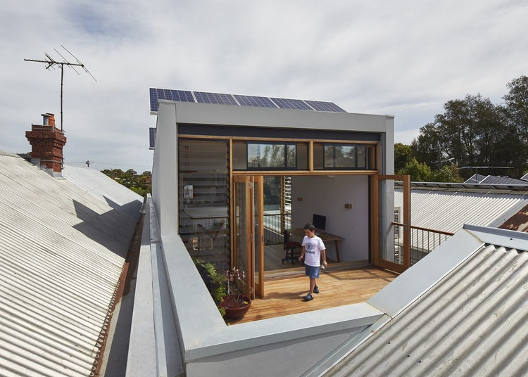 What to Do When You Love Your Neighbourhood But Outgrow Your House (via Lunchbox Architect)