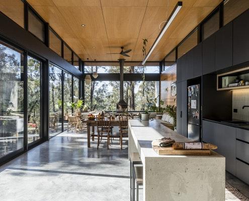 Bimbadeen House by Lachlan Shepherd Architects (via Lunchbox Architect)