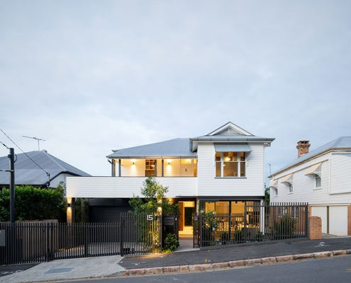 Black Ribbon House by Studio 15b (via Lunchbox Architect)