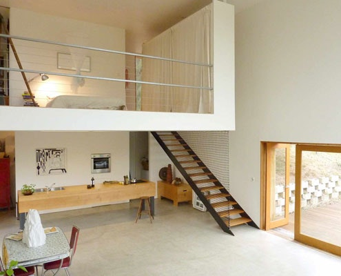 Bonnet Hill House by Dock4 Architecture (via Lunchbox Architect)