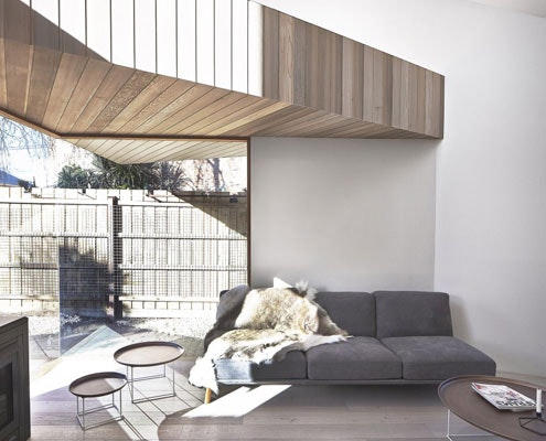 Bow House by Edwards Moore Architects (via Lunchbox Architect)