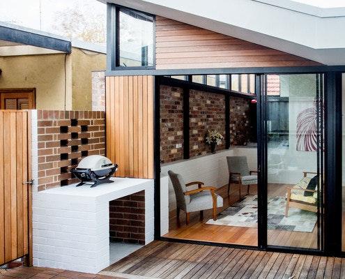 Brick House by Bastian Architecture (via Lunchbox Architect)