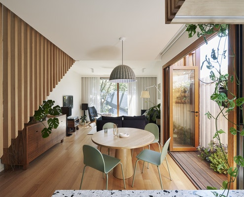 Brunswick Green by Drawing Room Architecture (via Lunchbox Architect)