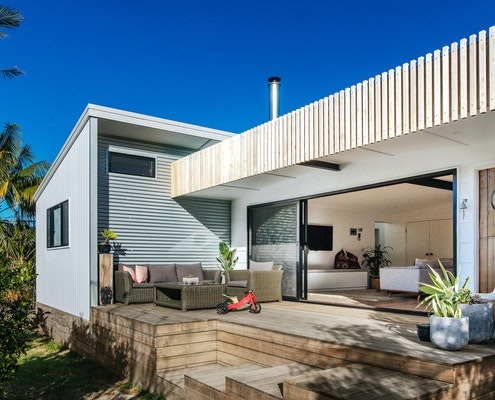 Burrill Lake House by Jost Architects (via Lunchbox Architect)