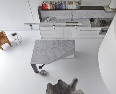 Loft Apartment West Melbourne by Adrian Amore Architects (via Lunchbox Architect)