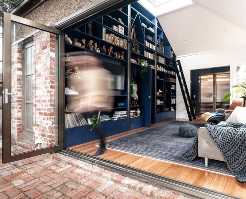 Cabinet of Curiosities House by Perversi-Brooks Architects (via Lunchbox Architect)
