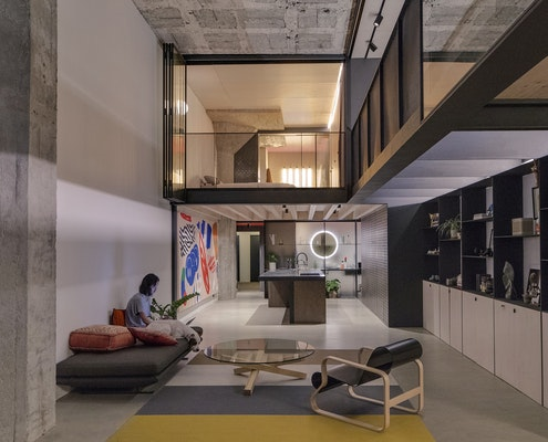 Camperdown Warehouse by Archer Office (via Lunchbox Architect)