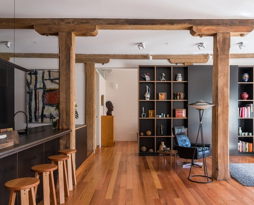 Castray Apartment by Field Labs (via Lunchbox Architect)