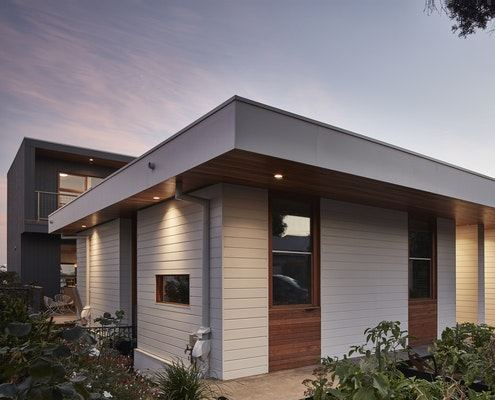 Clifton Hill Terraces by Field Office Architecture (via Lunchbox Architect)