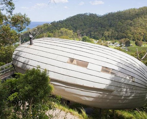 Cocoon by Bellemo & Cat Architects (via Lunchbox Architect)