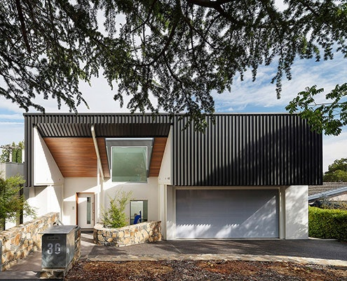 Constable House by Townsend + Associates Architects (via Lunchbox Architect)