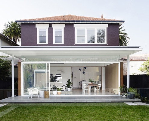 Coogee House by Madeleine Blanchfield Architects (via Lunchbox Architect)