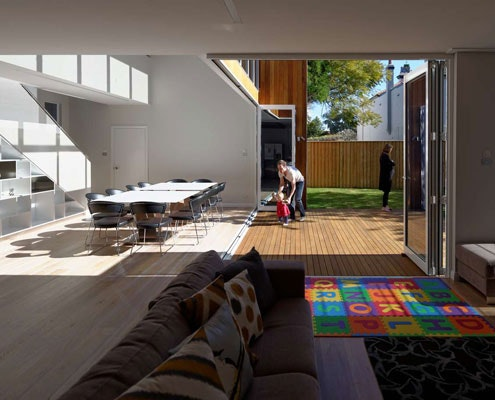 Cooks Hill Residence by Bourne Blue Architecture (via Lunchbox Architect)