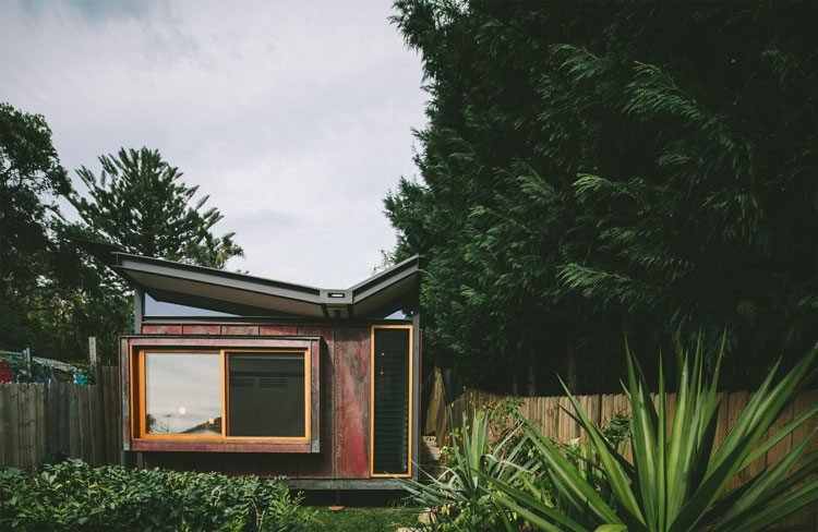 Copper House Takt Studio for Architecture viewed from the front