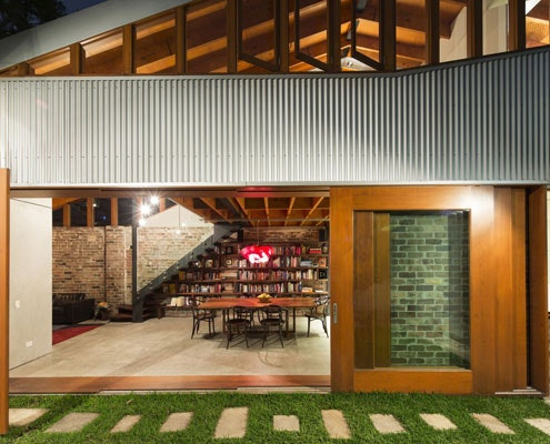 Cowshed House by Carter Williamson Architects (via Lunchbox Architect)