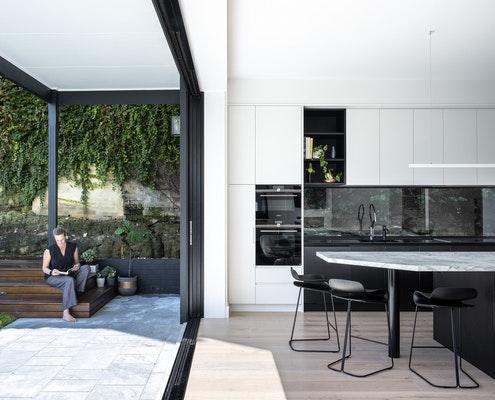 CrossCut House by Bijl Architecture (via Lunchbox Architect)