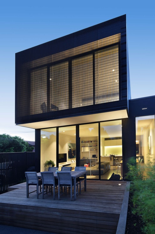 Cube House by Carr Design Group (via Lunchbox Architect)
