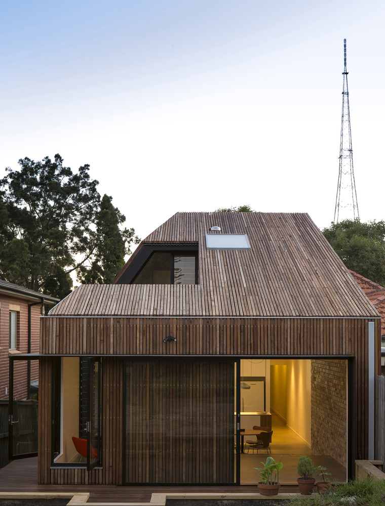 Cut-away Roof House