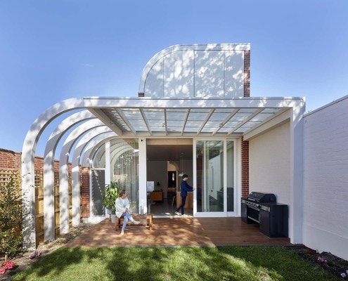 Deco House by Mihaly Slocombe (via Lunchbox Architect)