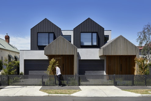 Dover Townhouses by  (via Lunchbox Architect)