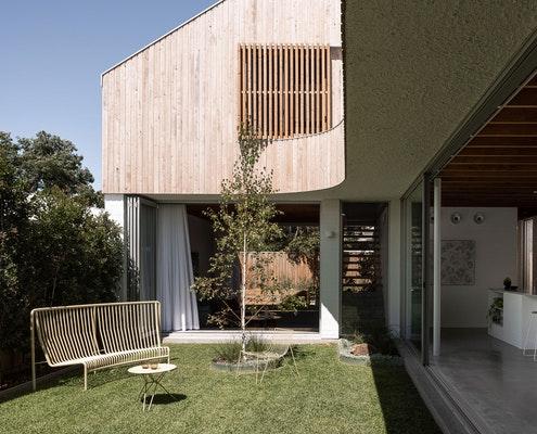 East Fremantle House by Nic Brunsdon (via Lunchbox Architect)