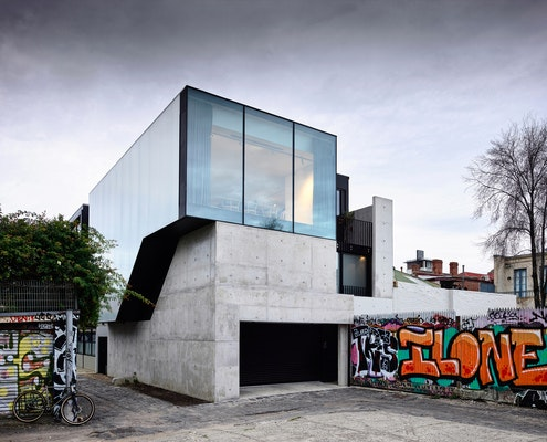 Fitzroy Lane House by Kennedy Nolan Architects (via Lunchbox Architect)