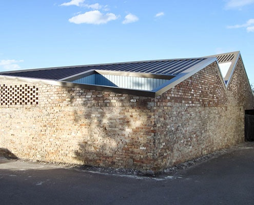 Five Courts House by Matthew Gribben Architecture (via Lunchbox Architect)