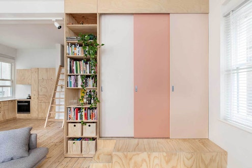 Flinders Lane Apartment by Clare Cousins Architects (via Lunchbox Architect)