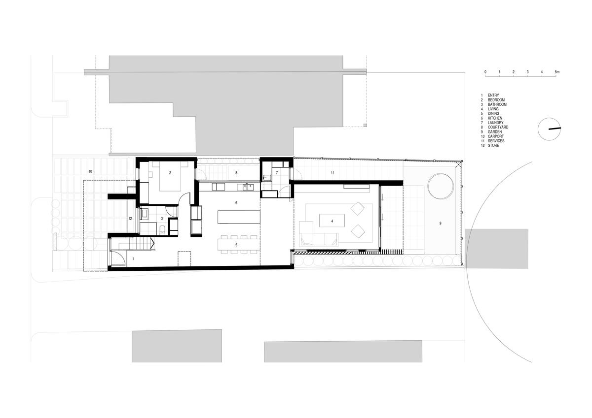 Folding Floor House