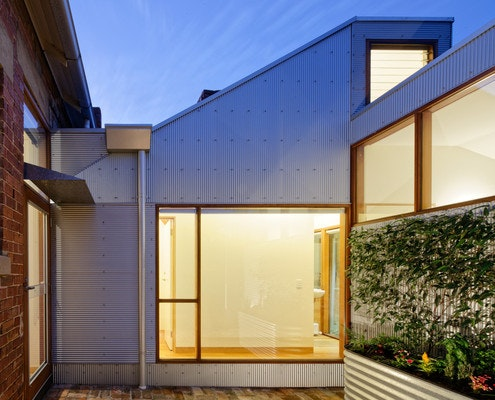 Footscray Shed House by Jonathan Wong Architects (via Lunchbox Architect)