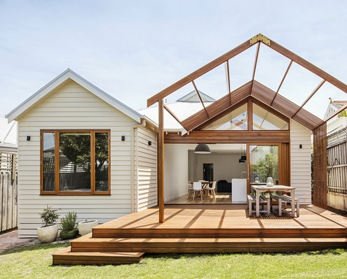 Gable House by Sheri Haby Architects (via Lunchbox Architect)