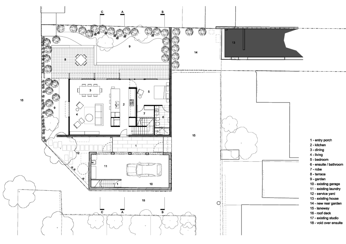 Garden Wall House