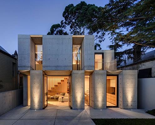 Glebe House by Nobbs Radford Architects (via Lunchbox Architect)