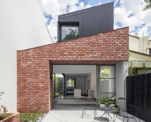 Glebe Red by Benn & Penna Architects (via Lunchbox Architect)