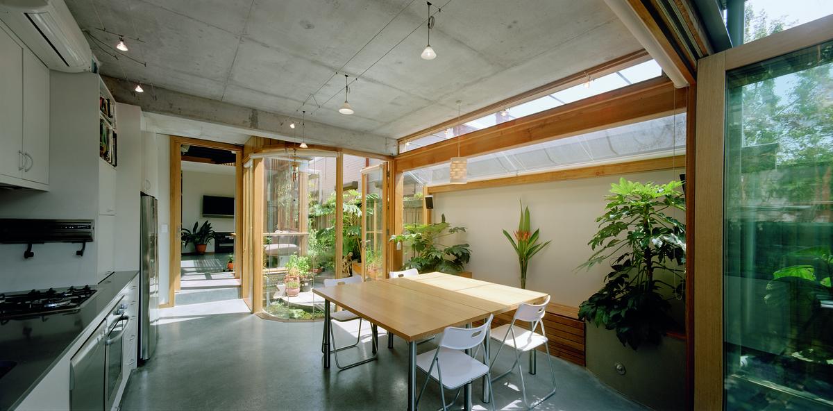 Urban Green House Creates a Sunny, Healthy, Happy, Inner-City Home