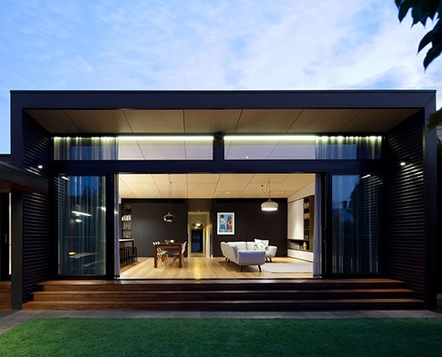 Hawthorn House by Chan Architecture (via Lunchbox Architect)