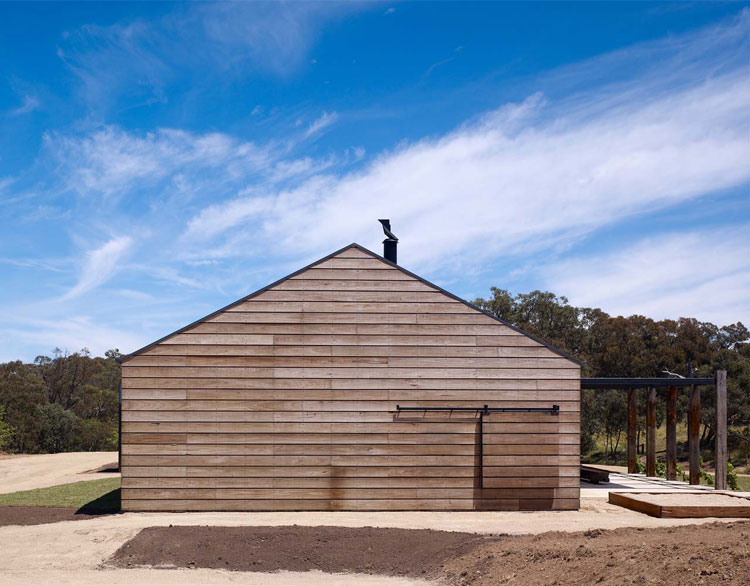 Hill Plain House has a simple, historical form