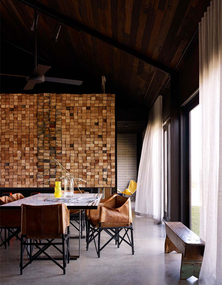 The interior of Hill Plain House is expertly crafted