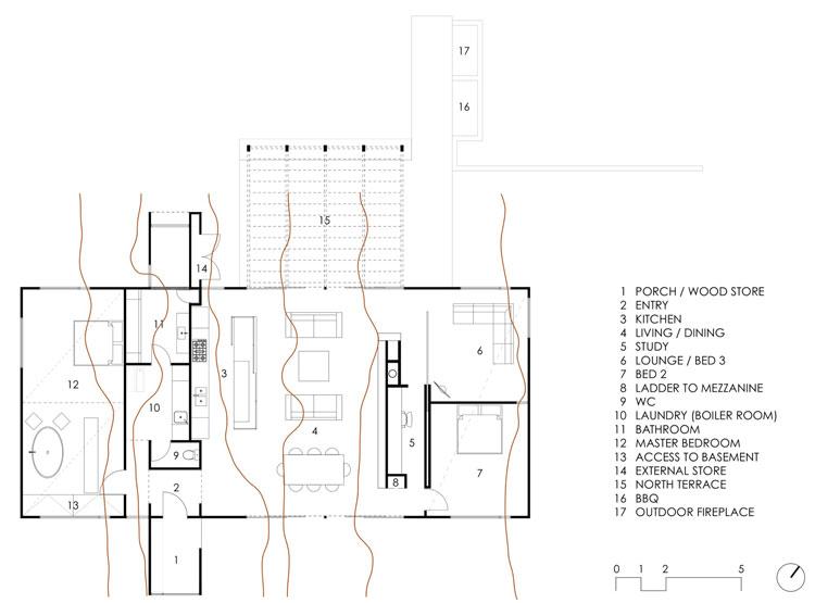 Hill Plain House Plan