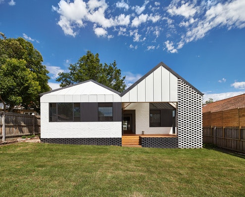 Hip & Gable House by Architecture Architecture (via Lunchbox Architect)