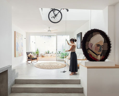 House Bruce Alexander by Tribe Studio (via Lunchbox Architect)